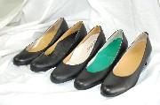 靴の試し履き