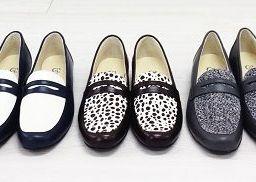歩きやすい、かわいい革靴。定番ローファー、リリースです