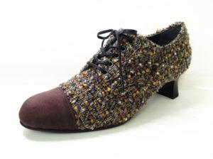 ツイードおじ靴