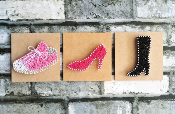 靴コラージュ